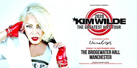 Kim Wilde - Greatest Hits Tour (Bridgewater Hall, Manchester) tickets