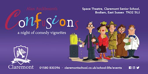 Claremont Senior School presents 'Confusions' - a night of comedy vignettes