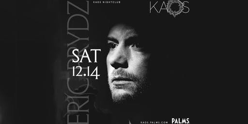 ERIC PRYDZ at KAOS NIGHTCLUB , SATURDAY , NOVEMBER 14TH