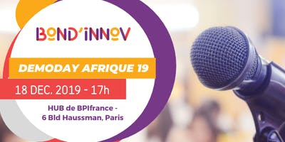 DEMO DAY AFRIQUE 2019
