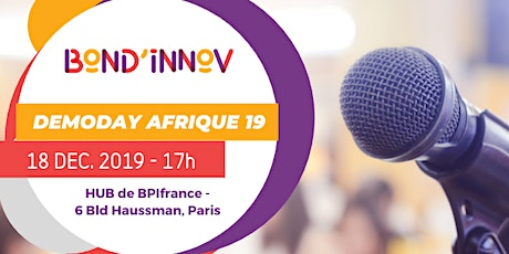 DEMO DAY AFRIQUE 2019 tickets
