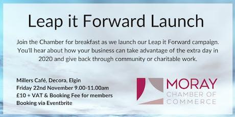 Leap it Forward Launch tickets