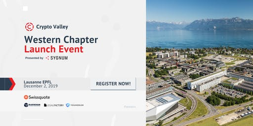 Launch event - Crypto Valley Association Western Chapter