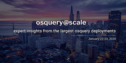 osquery@scale 2020