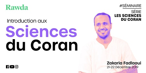 Séminaire  #Série - Introduction aux sciences du Coran