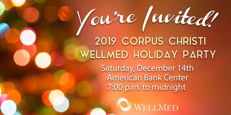 WellMed Corpus Christi Holiday Party tickets