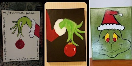 All Ages Paint Event & Meet Grinch/Fall River tickets