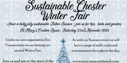 Sustainable Chester Winter Fair & 10xGreenCH1 launch