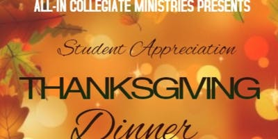 All-In Open Night Mic and Thanksgiving Dinner