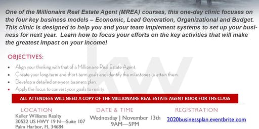 MREA: Business Planning Clinic with Jeff Borham