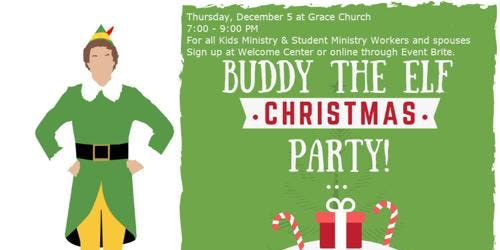 """Buddy the Elf"" Christmas Party"