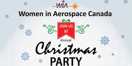 WIA Ontario Annual Christmas Party December 12, 2019 tickets