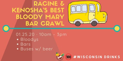 Racine & Kenosha's Best Bloody Mary Bar Crawl