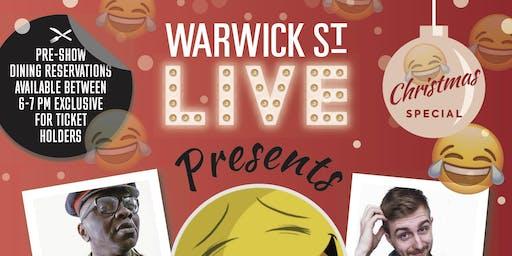 Warwick St Live presents Hooma Comedy Club