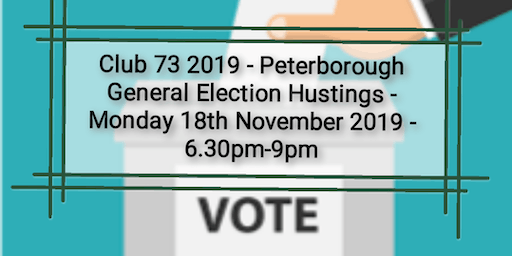 Pboro GE Hustings for adults with learning &/or social disabilities