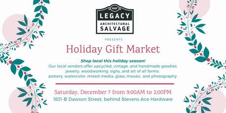 Holiday Gift Market tickets
