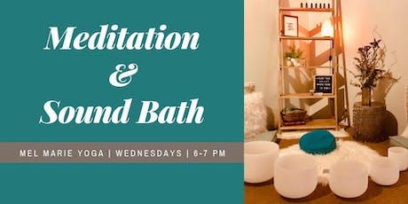 Meditation and Sound Bath tickets
