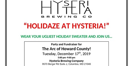 Holidaze at Hysteria tickets