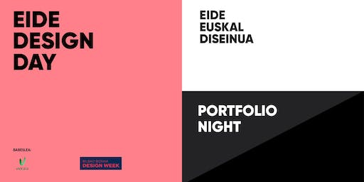 EIDE DESIGN DAY 2019 | Portfolio Night