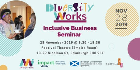 Diversity Works - Inclusive Business Seminar - Edinburgh tickets