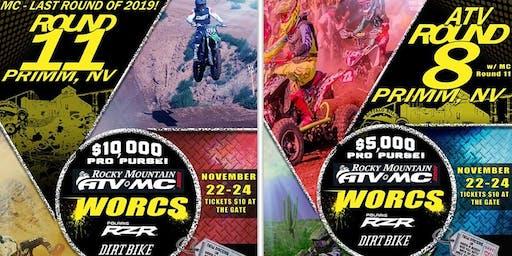 WORCS MC Round 11 & ATV Round 8 - Buffalo Bill's – Primm, NV