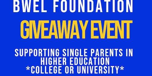 Single Parent Student Giveaway Event