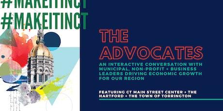 #MakeItInCT - The Advocates tickets