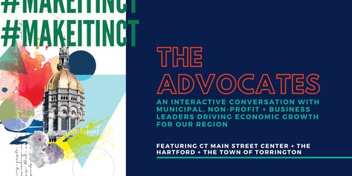 #MakeItInCT - The Advocates