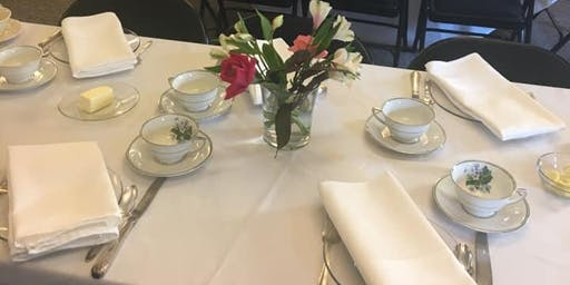 Sutherlin Mansion Holiday High Tea