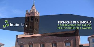 Monza: Corso gratuito di memoria