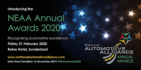 North East Automotive Alliance Annual Awards 2020 tickets