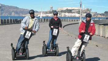 The Original San Francisco Fisherman's Wharf & Waterfront Guided Segway Tour