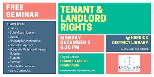 Tenant & Landlord Rights