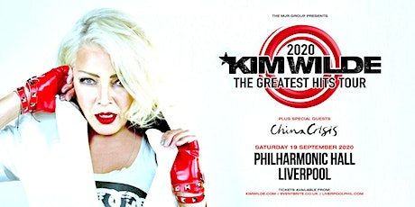 Kim Wilde - Greatest Hits Tour (Philharmonic Hall, Liverpool) tickets
