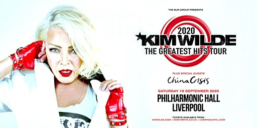Kim Wilde - Greatest Hits Tour (Philharmonic Hall, Liverpool)