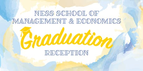 Graduation for Ness School of Management & Economics tickets