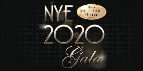 NYE Gala at Mills Park Hotel tickets