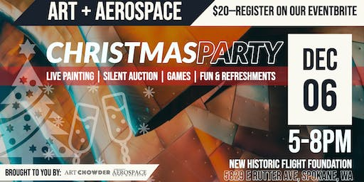 Art + Aerospace Christmas Party