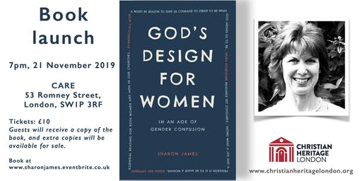 Book launch: God's Design for Women by Sharon James