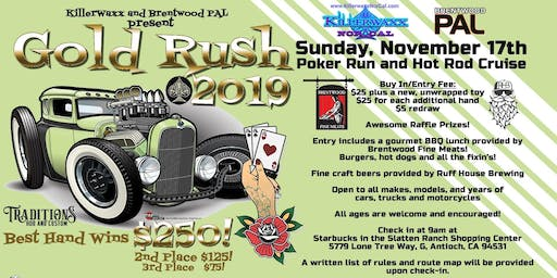 Gold Rush Car Cruise and Poker Run