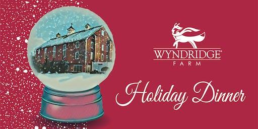 Wyndridge Farm Holiday Dinner