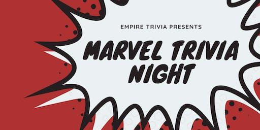 MARVEL Trivia at Grape & The Grain
