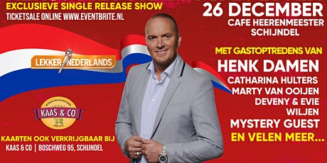 Kerst met Frank van Etten tickets