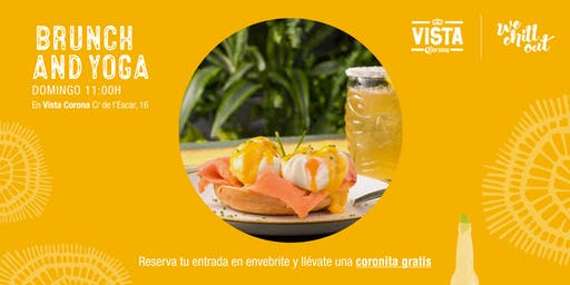 BRUNCH AND YOGA - Vista Corona La Barceloneta