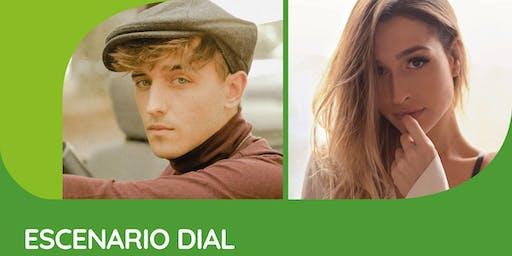 Escenari Dial amb Manel Navarro i Belén Aguilera