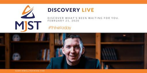MJST Discovery LIVE!