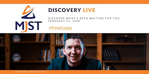 MJST Discovery LIVE!