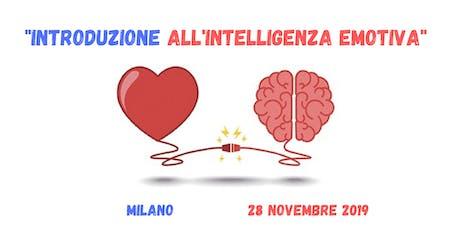 Introduzione all'Intelligenza Emotiva biglietti