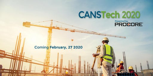 CANSTech 2020 - the Construction Innovation and Technology Tradeshow