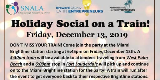 SNALA and BCLE present: Holiday Social on a Train!